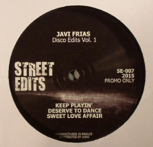Javi Frias – Disco Edits Vol. 1 [SE-007]
